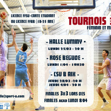 TOURNOIS DE BASKET 3X3
